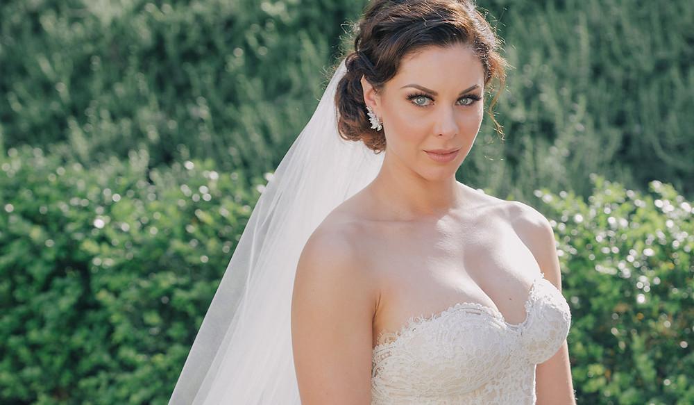 lovely bride santa barbara wedding dj