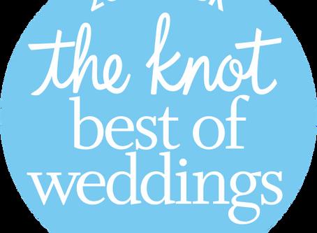 DJ Kamayo Entertainment awarded The Knot Best Of Weddings 2018