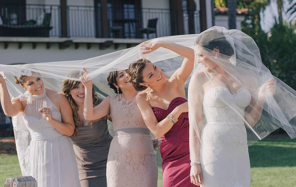 bridesmaids wedding dj santa barbara