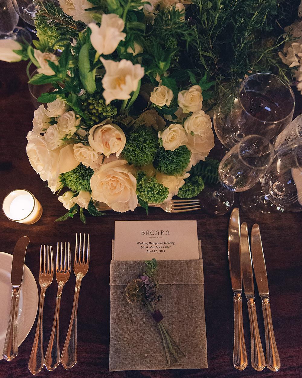 dining wedding dj santa barbara
