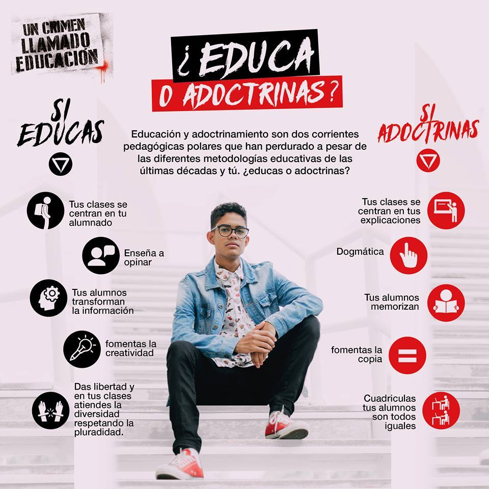 Educas o Adoctrinas