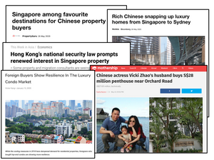 Foreign demand for singapore real estate
