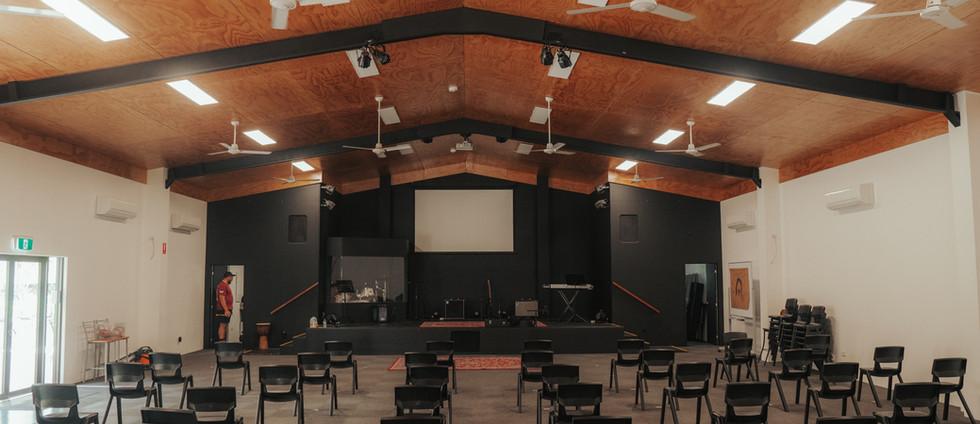 Hallas Hall Interior