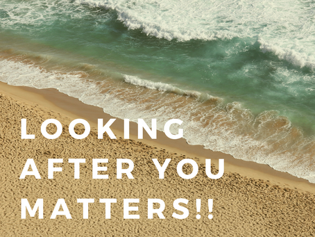 Looking after YOU matters