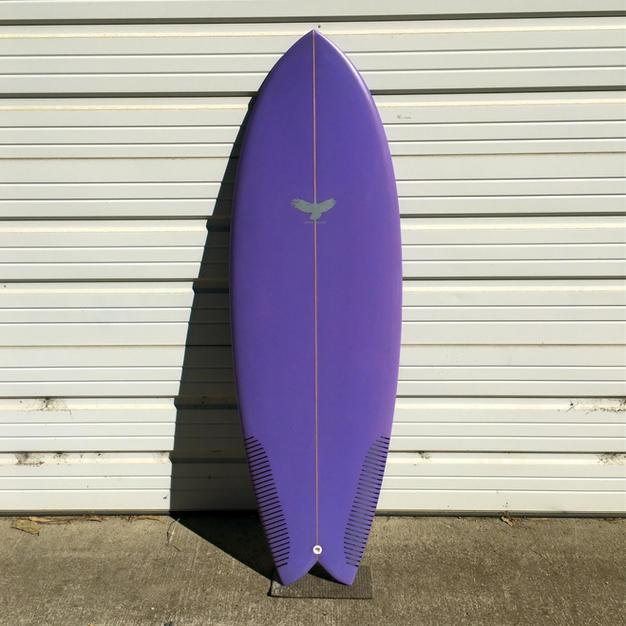5'4 Purple Passion Fish