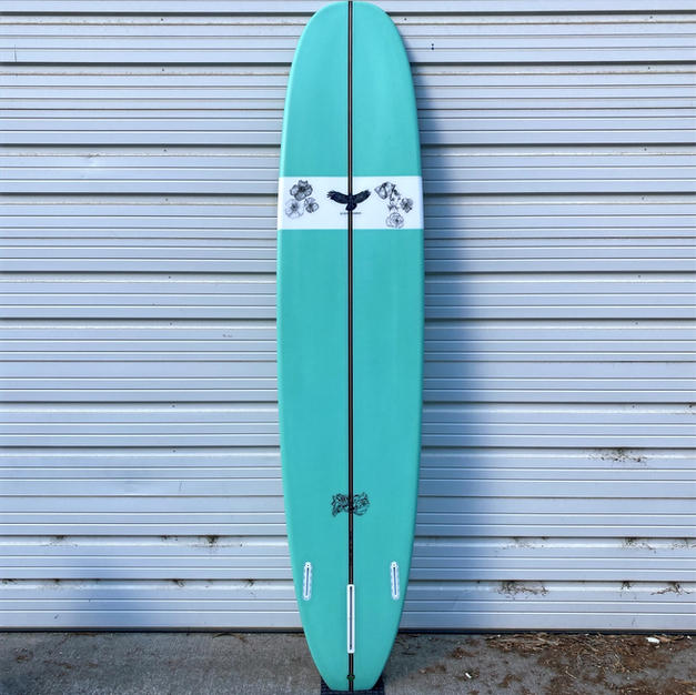 9'2 Longboard with Client Artwork