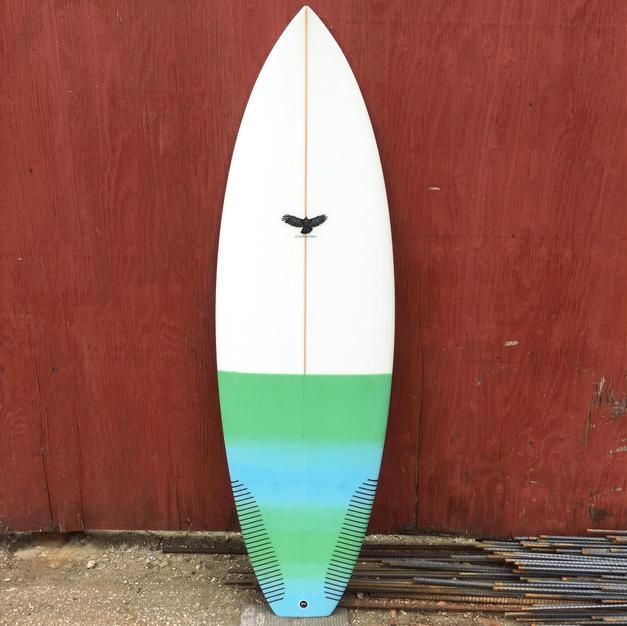 5'4 Squash Tail Shortboard