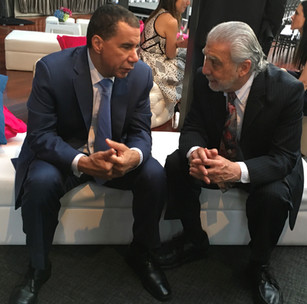"""""""Having Former Governor of New York, David Paterson, as a friend is important because, well, I just like him. His depth of knowledge on a variety of issues lends itself to exciting conversation and productive debates. As importantly, he is a 'family friendly' legislator and advocate for the FAMILY, and for gender equality. This is so valuable today, for without gender, equality practiced consistently, in the workplace and home, men and women will never have true access. Governor Paterson understands what Paid Family Leave can do to restoring the Family as the centerpiece of our society."""""""