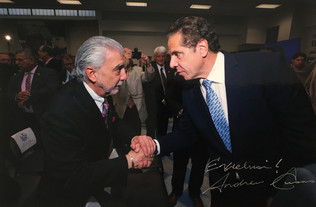 With Andrew Cuomo