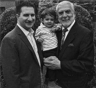 """Three Generations  """"Anthony gets the everyday love and affection from his father, Jerry, and yes, I get to spoil him!"""""""