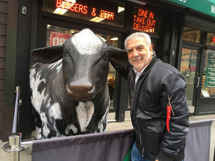 You never know who or what you will meet on the busy streets of NYC.