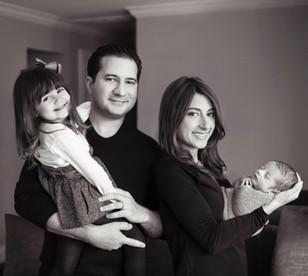 My son's lovely family