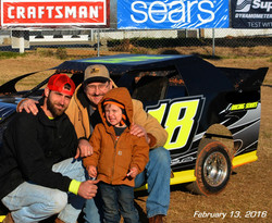 Spencer Harp, his father, & his son