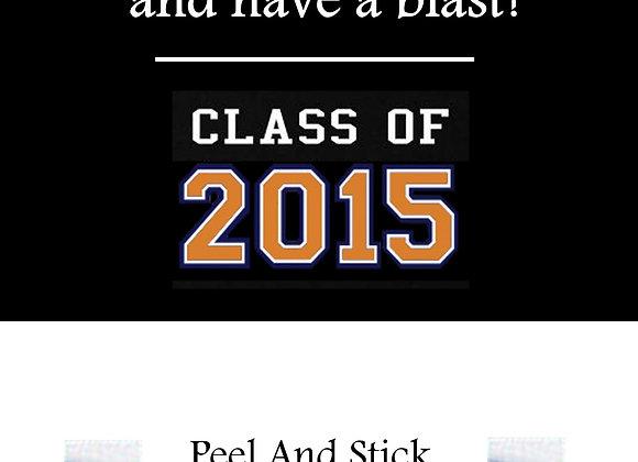 Class of 2015 orange