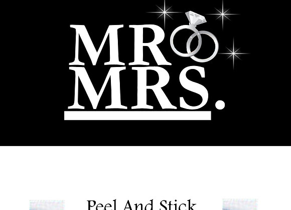 Wedding Mr./Mrs. sparkle ring