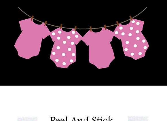 #3 Baby shower pink polka dot