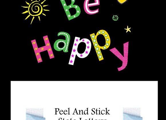 Greeting be happy