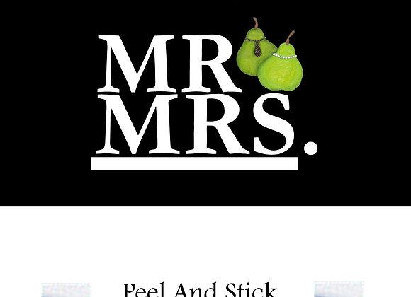 Wedding mr./mrs. perfect pair
