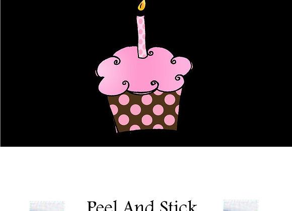 #3 Polka dot cupcake