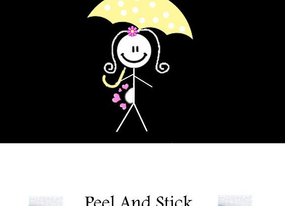 Baby Shower yellow umbrell