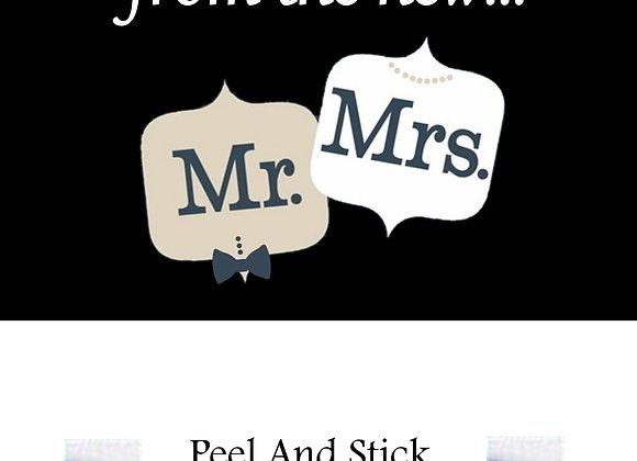 Wedding mr./mrs. comment box