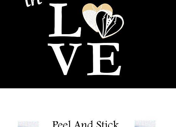 Wedding lucky in love heart tux/dress