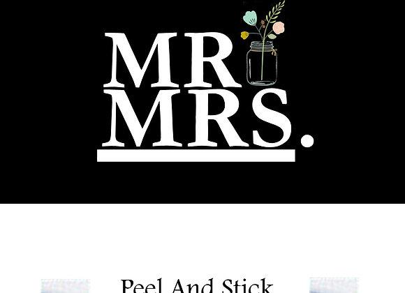 Wedding Mr./Mrs.Mason Jar
