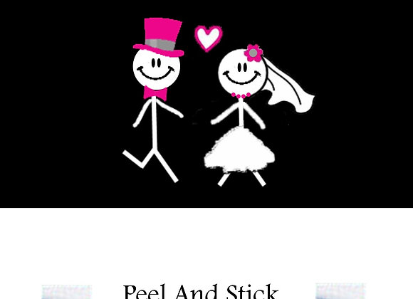 Wedding stick wishing riche