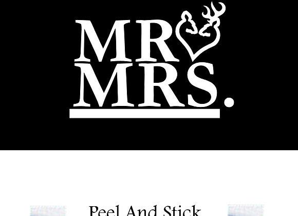 Wedding mr./mrs. doe/buck