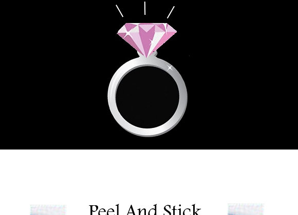 Bridal Shower ring/pink