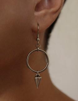 Spike Drop Hook Earrings