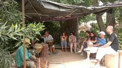 יום כיף אפריקאי בבית בנגורה