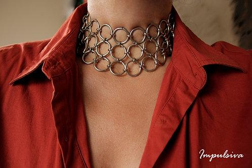 Statement Fingermaille Choker Necklace  | Impulsiva Jewelry