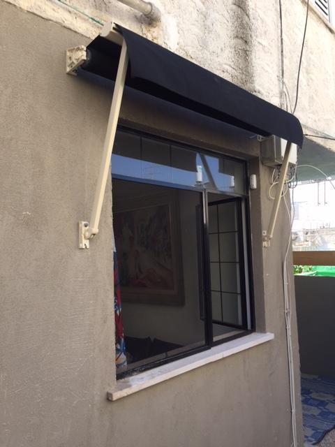 סוכך לחלון / מרקיזולטה - מקופל