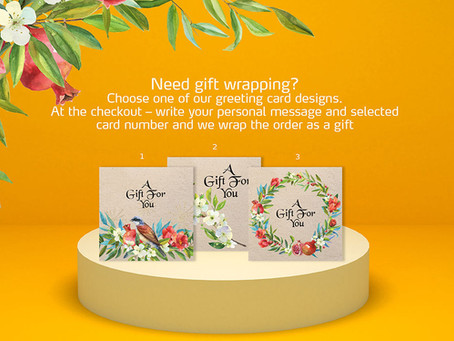 Need gift wrapping?