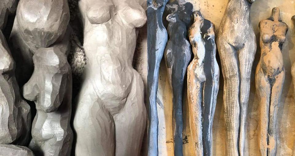 הפסלים של אלה טאוב