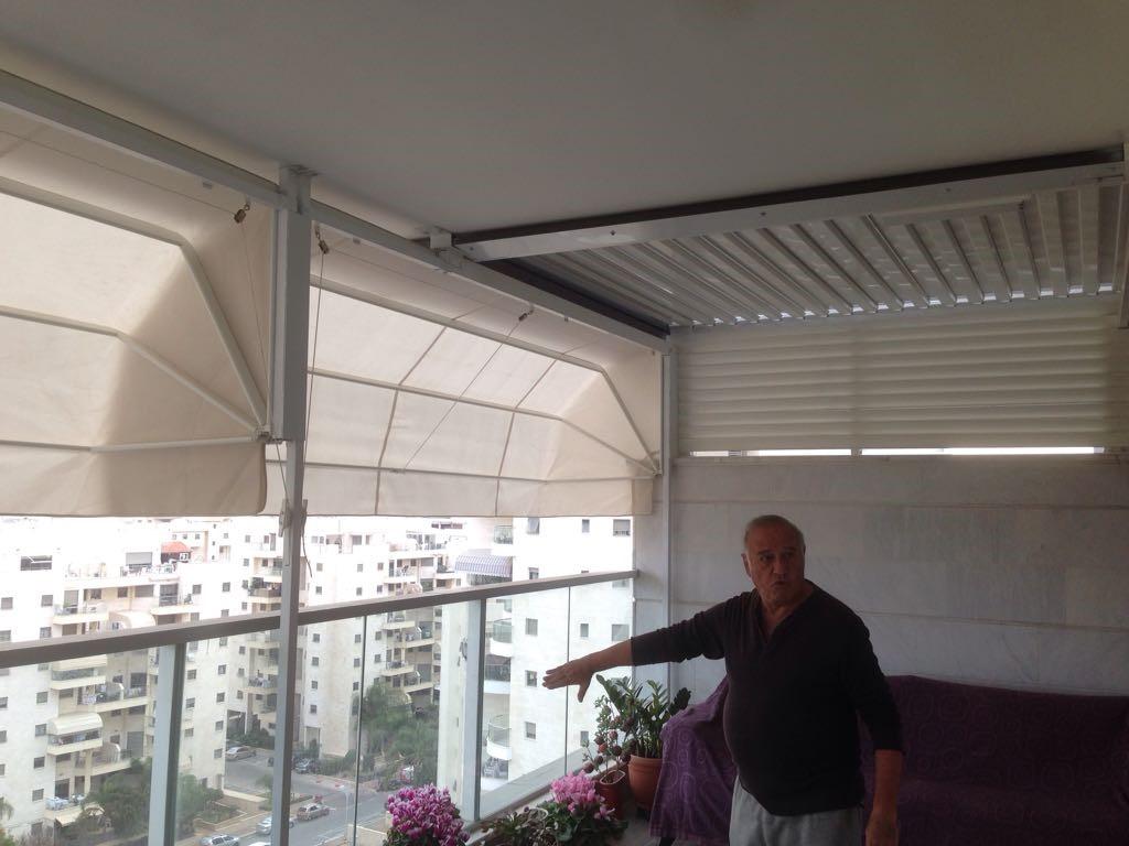 מרקיזה למרפסת בדירה