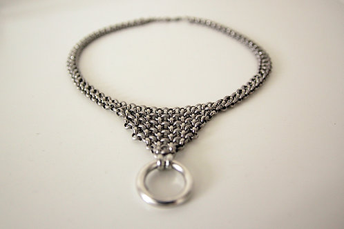 Silver O-Ring Drop Collar