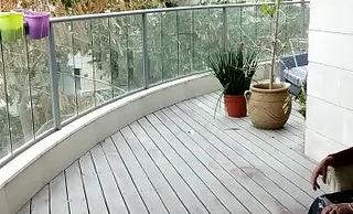 סוכך מסך חשמלי למרפסת