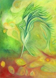 """""""ציור מתוך הספר שכתבתי """"ברכת הנהר"""