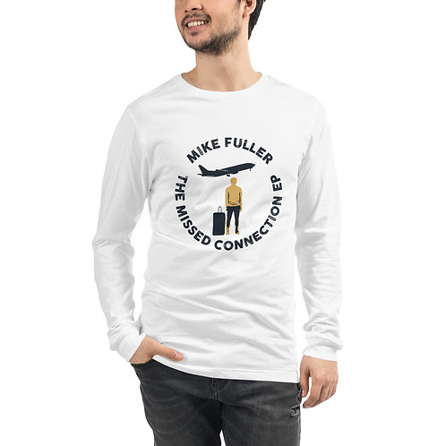 The Missed Connection EP White Long Sleeve T-Shirt (Unisex)