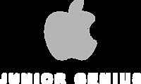 Apple - Junior Genius - Black Logo.png
