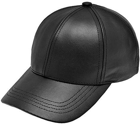 Simple Leather Cap