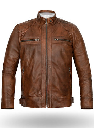 Brown Spanish Leather Jacket
