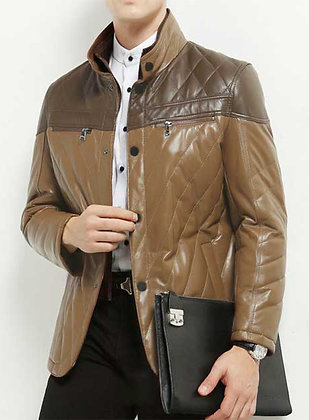 Quilted Leather Jaacket