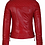 Thumbnail: Red Biker Leather Jacket