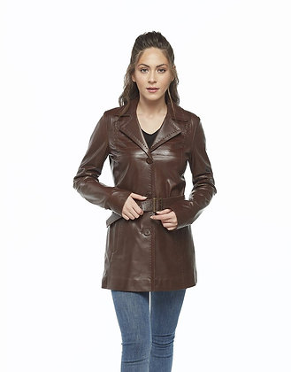 Brown Trench Long Coat