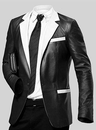 Hampton Leather Blazer