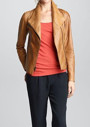 Simple Unique Colour Leather Jacket
