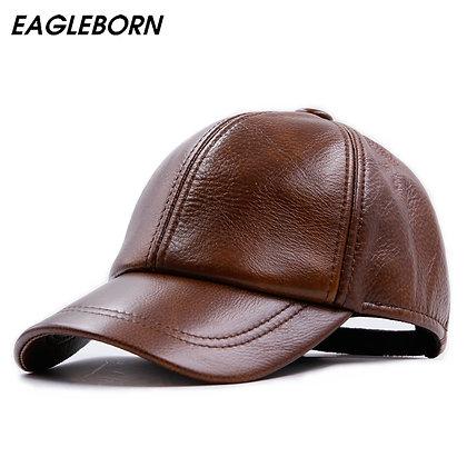 Simple Shiny Brown Cap